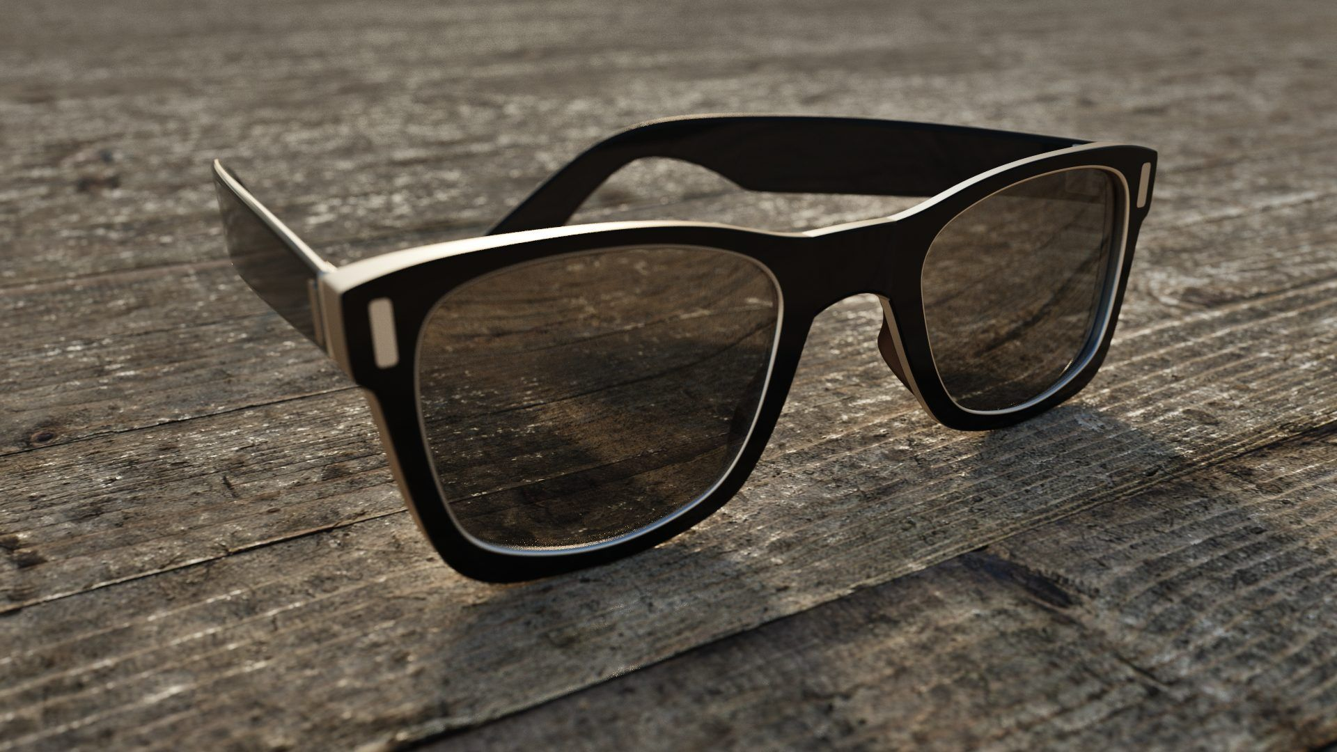 Rendered Sun Glasses
